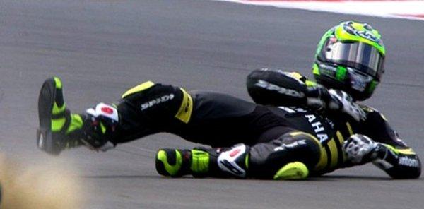 мотоциклист-упал